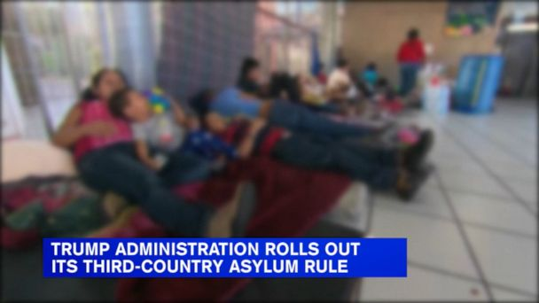 Trump administration rolls out 'third country' asylum rule