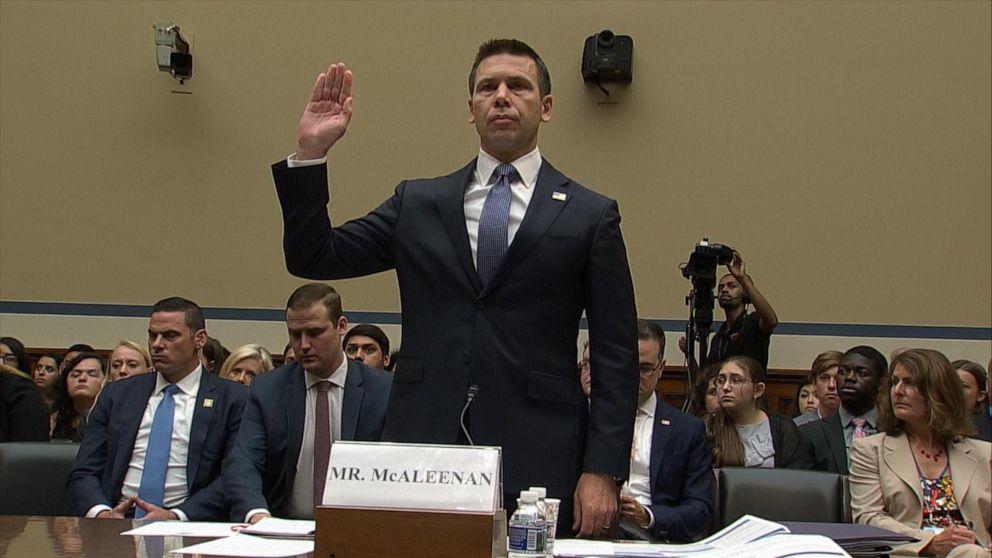 Homeland Security acting secretary testifies on border facilities' conditions