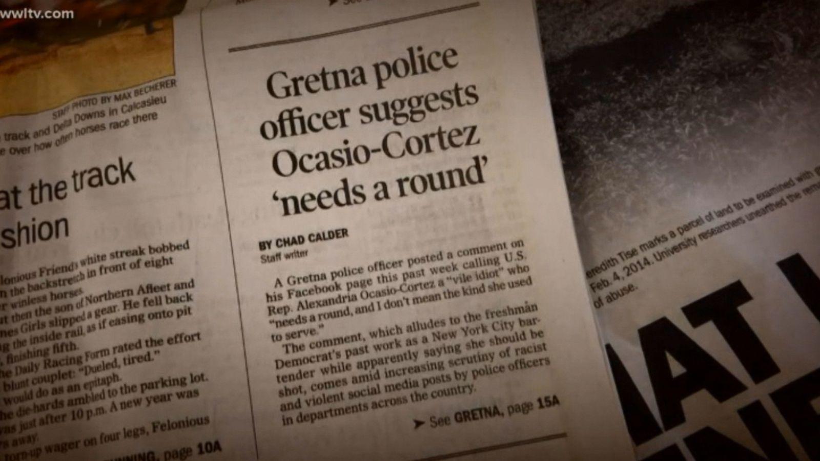 Ohio man threatens Alexandria Ocasio-Cortez on Facebook: 'She should