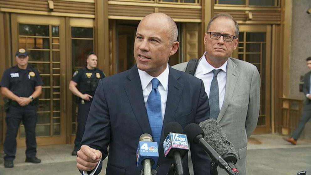 Avenatti bashes Trump as '3rd-rate mobster' following court appearance