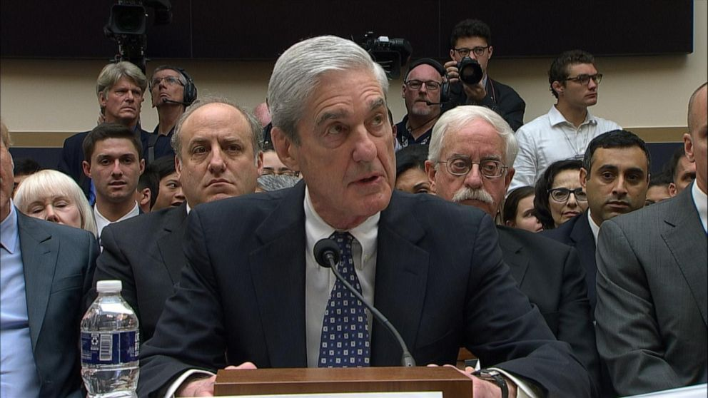Read the full text of Robert Mueller's opening statement to Congress
