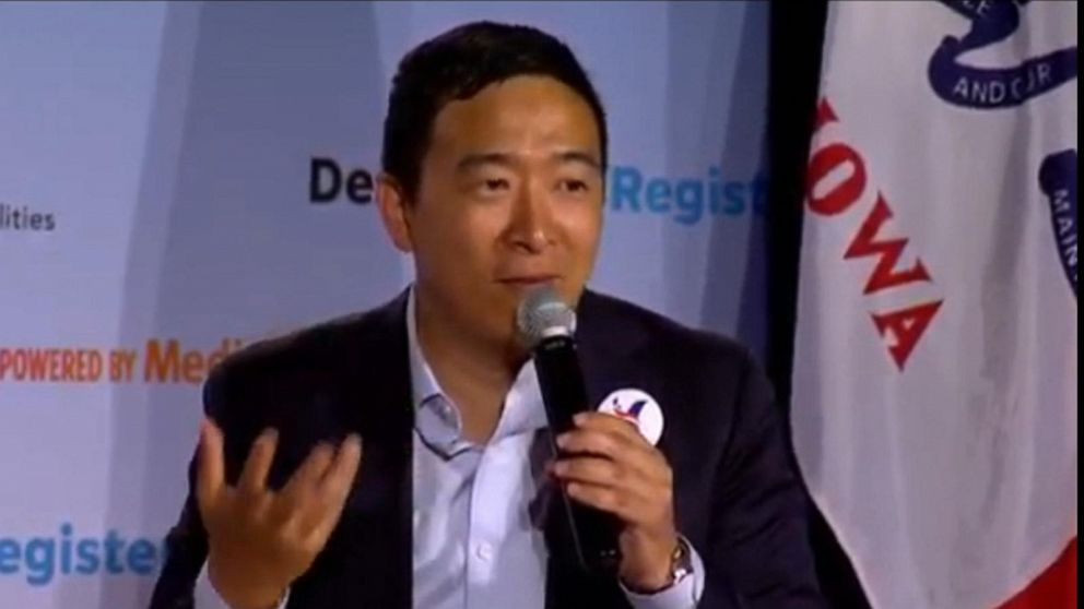 Andrew Yang Everything You Need To Know About The 2020 Presidential Candidate Abc News
