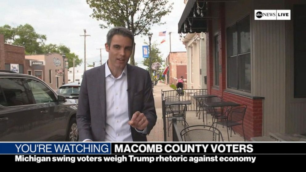 Breaking point': Swing voters weigh Trump rhetoric against