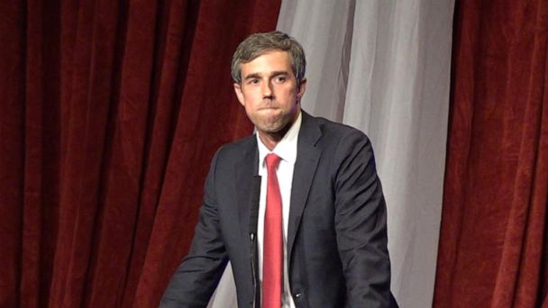 Beto O'Rourke visits Arkansas gun show