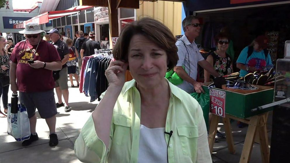 2020 Dem. Presidential candidate Amy Klobuchar talks upcoming election