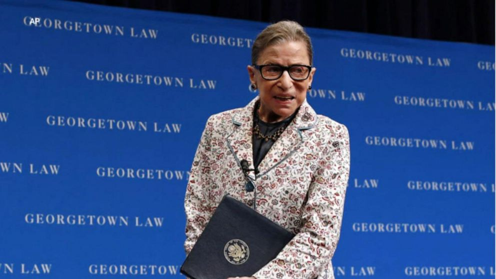 Supreme Court Justice Ruth Bader Ginsburg treated for pancreatic cancer