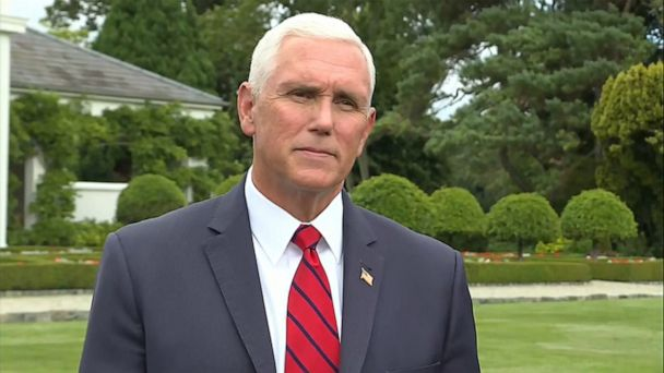 Pence defends staying at Trump property in Ireland