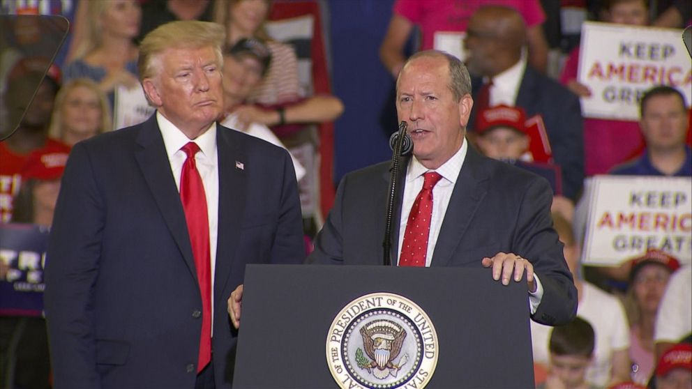 Republican Dan Bishop edges out win in North Carolina's