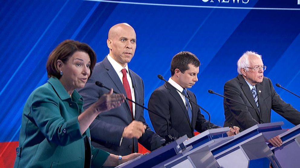 Democratic candidates debate: Dealing with China and tariffs