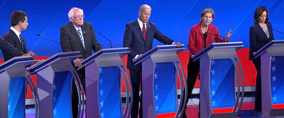 PHOTO: Highlights of the tough talk, zingers and lighter exchanges that unfolded on the debate stage in Houston.