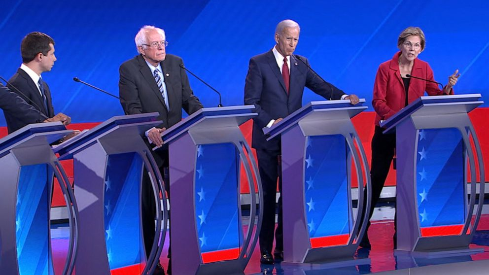 A 'Wizard of Oz' reference and an awkwardly-timed interruption: 7 biggest moments of third Democratic debate