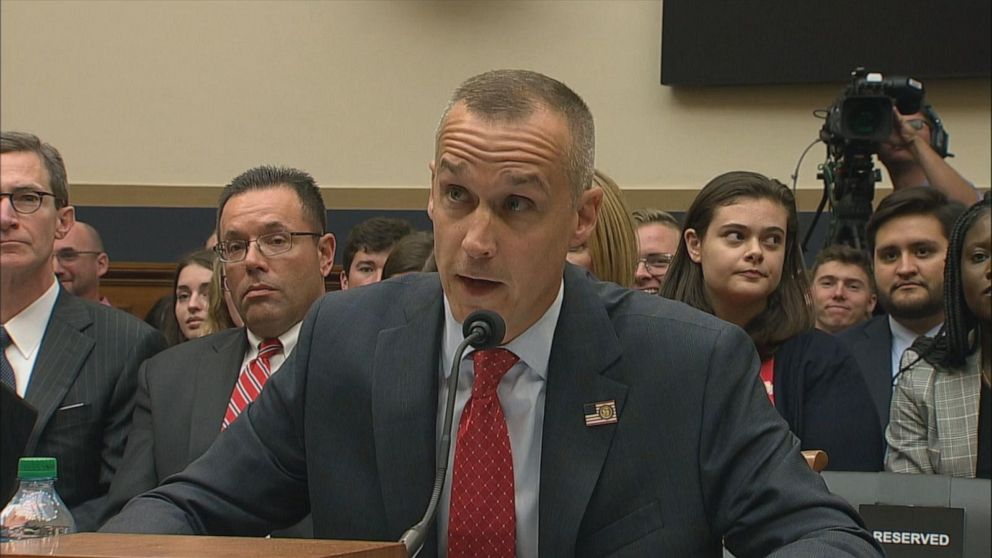 Corey Lewandowski refuses to answer most questions at congressional hearing