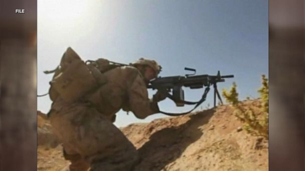 US service member killed in action in Afghanistan