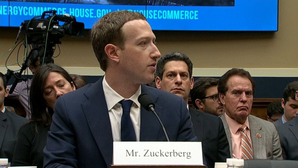 Mark Zuckerberg in DC to talk 'internet regulation'