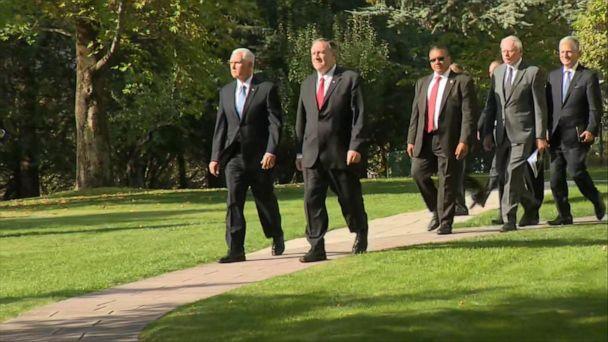 Vice president, secretary of state arrive in Turkey