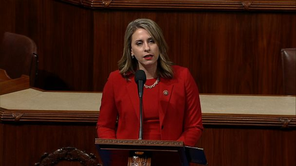 Katie Hill gives final speech before resigning