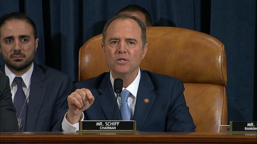 Schiff says Trump is 'unethical president' who believes he's 'above the law'