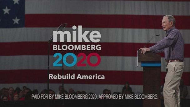 Bloomberg's 1st TV ad for possible 2020 presidential run