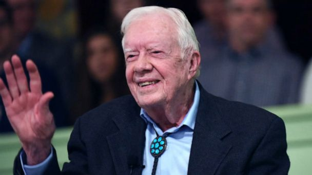 Jimmy Carter discharged from hospital