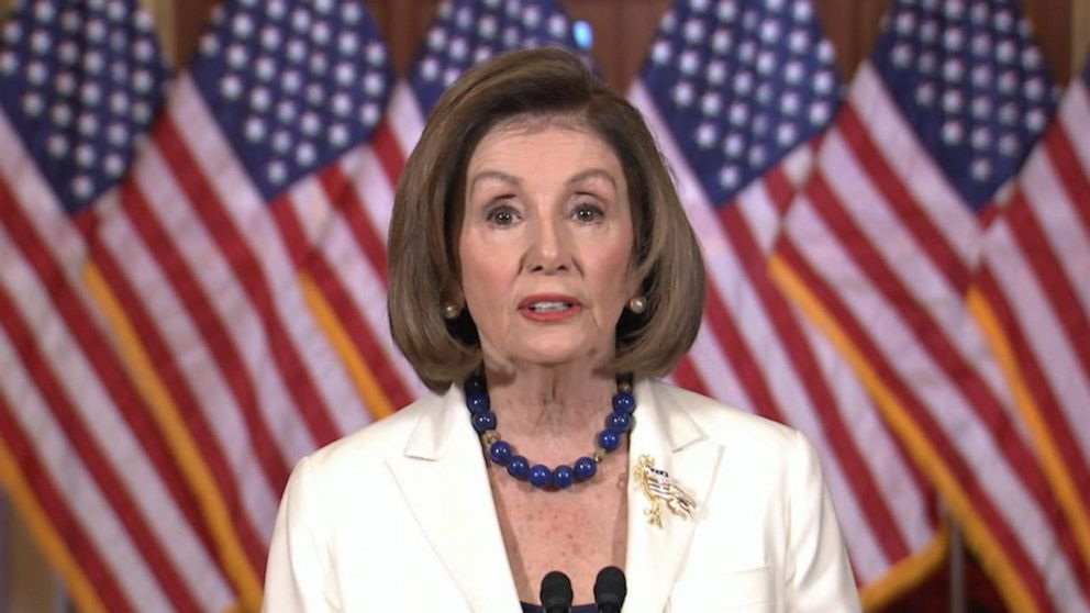 Speaker Pelosi asks House to draft articles of impeachment against President Trump