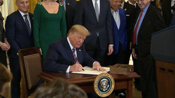Trump signs executive order aimed at anti-Semitism