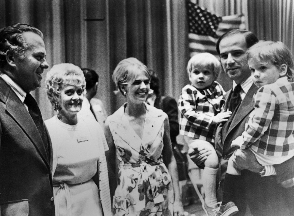 Nearly 50 Years After Death Of Wife And Daughter Empathy Remains At Joe Biden S Core Abc News