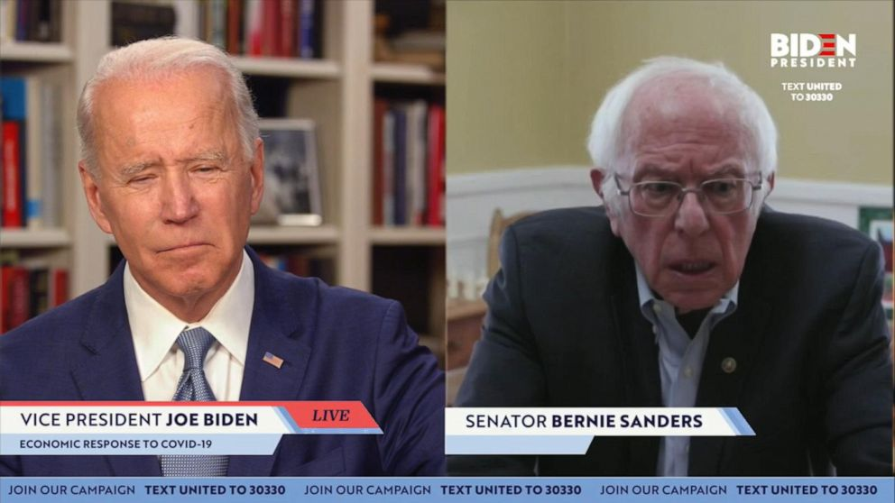 Biden Campaign Reaches Deal To Allow Bernie Sanders To Retain Hundreds Of Delegates Maintain Influence Over Party Platform At The Convention Abc News