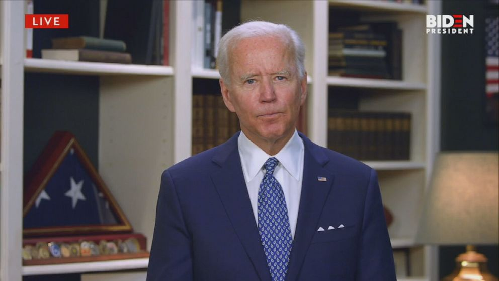 Biden Calls For Justice For George Floyd Following Protests Over His Death Abc News