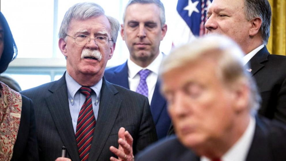 Bolton's White House exit: Fired or resigned?