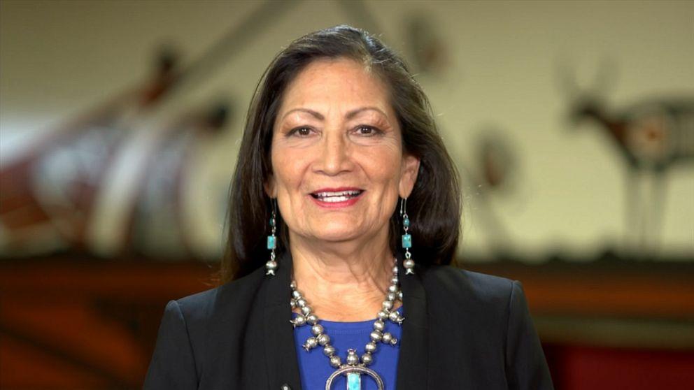 Rep. Deb Haaland on Native American pride Video - ABC News