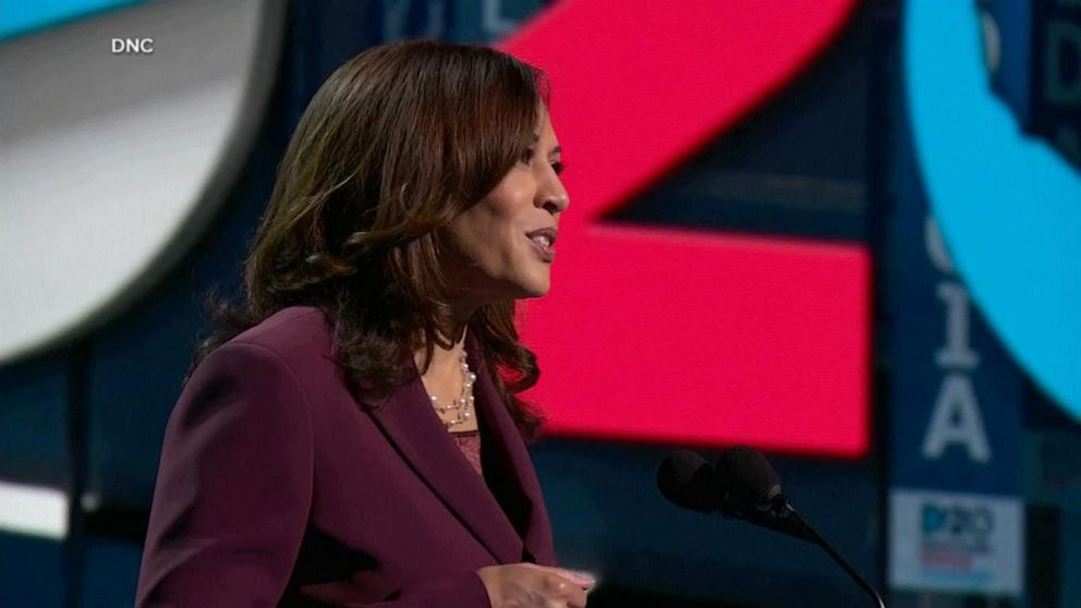 Abc News Live Update Kamala Harris Accepts Democratic Nomination For Vice President Video Abc News