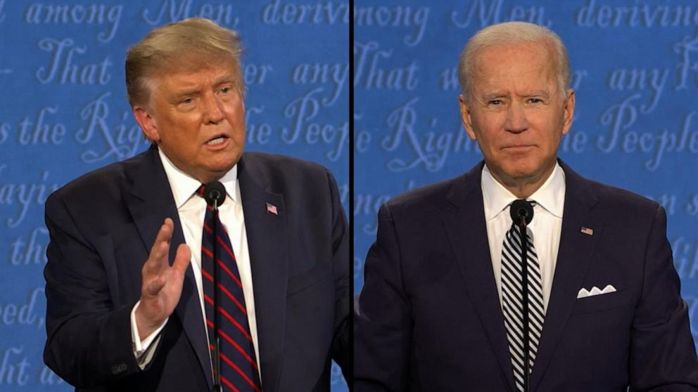 There's nothing smart about you': Trump to Biden Video - ABC News