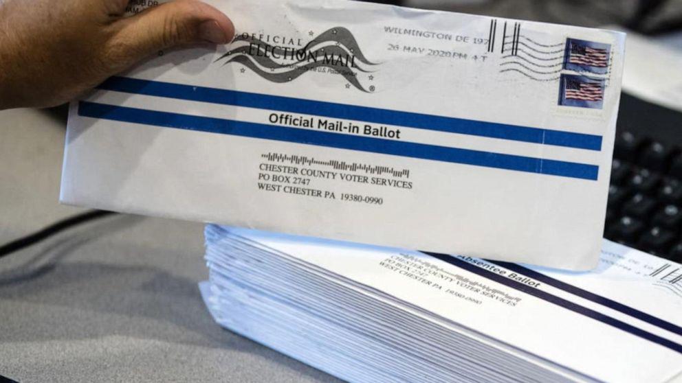 Naked ballot fears in Pennsylvania Video - ABC News