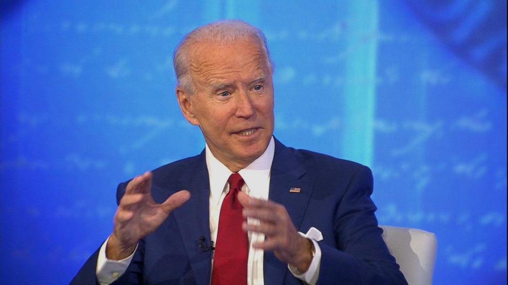 Fact-checking Joe Biden's answers from ABC News town hall