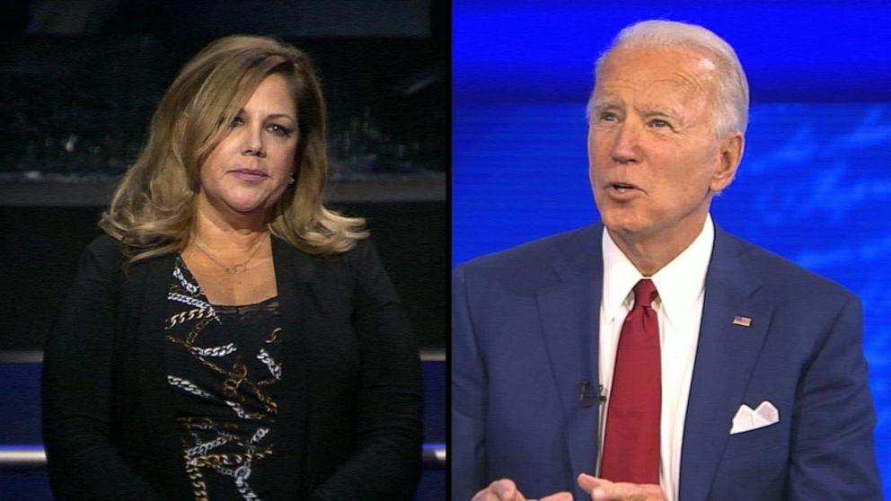 Joe Biden pressed whether he would take a COVID-19 vaccine