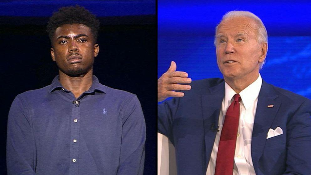 Joe Biden pressed on why Black voters should choose him