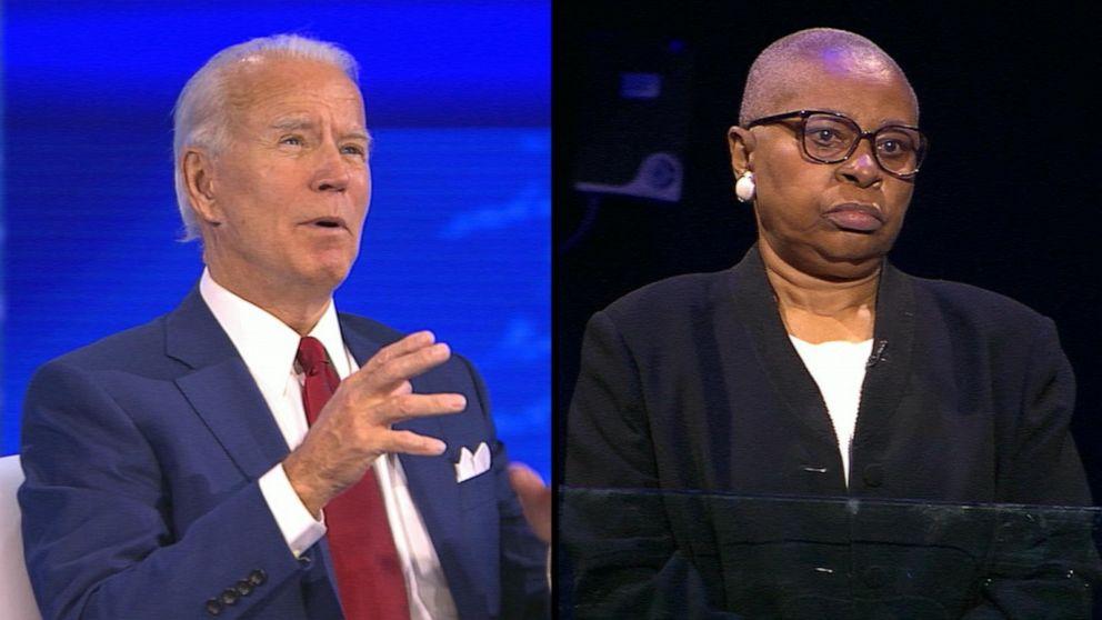 Joe Biden pressed on fracking