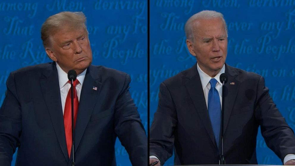Fact-checking Trump and Biden during final presidential debate