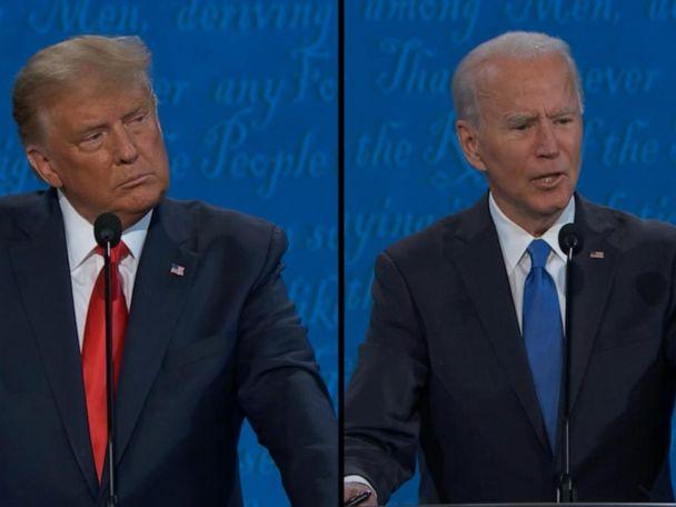 WATCH:  Biden and Trump discuss relief bill and minimum wage