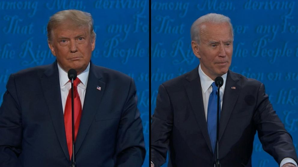 Biden and Trump address health care for American families