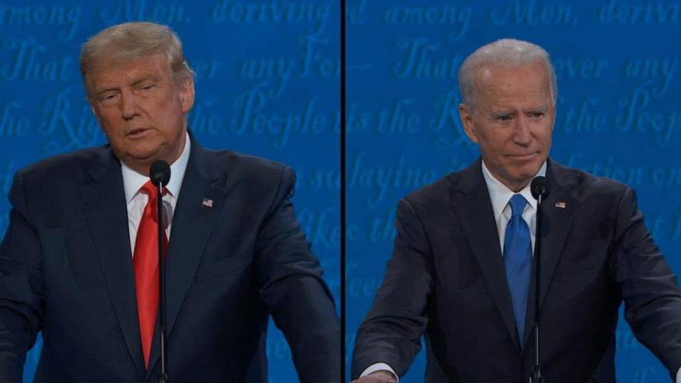 Biden and Trump discuss their views on immigration policy