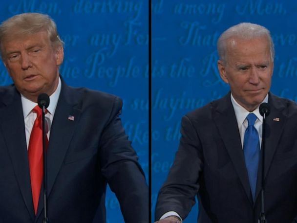 WATCH:  Biden and Trump discuss their views on immigration policy