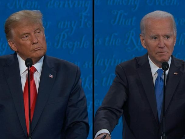 WATCH:  Biden and Trump share what they would tell opposing voters during inaugural address
