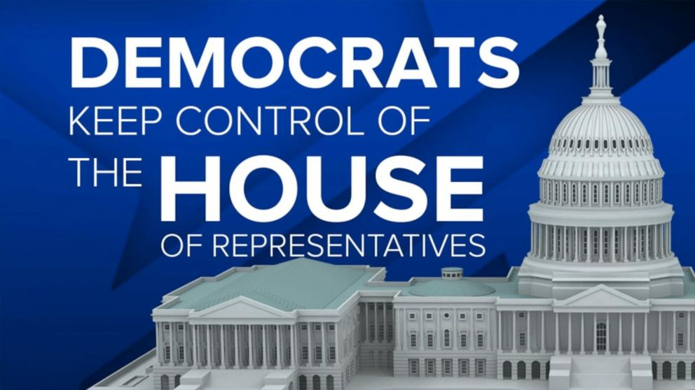 Democrats projected to retain control of the House