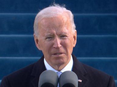 WATCH:  President Joe Biden delivers his inaugural address