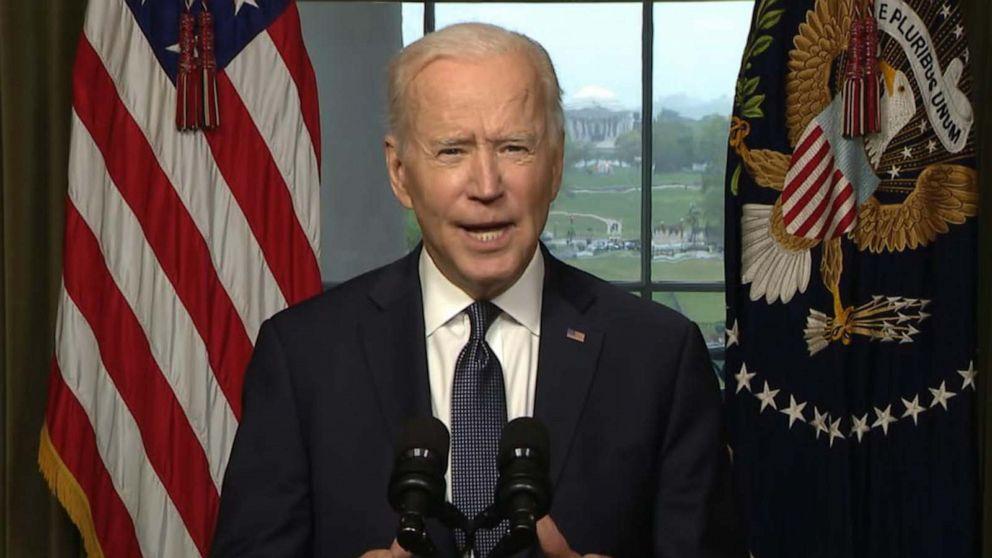 President Joe Biden announces withdrawal of US troops from Afghanistan