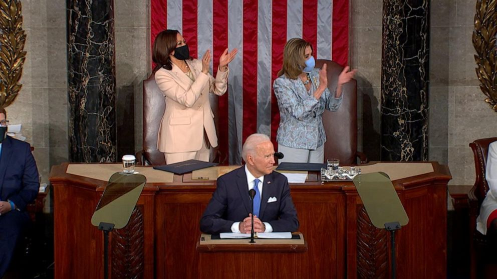 President Joe Biden discusses American Families Plan and child care