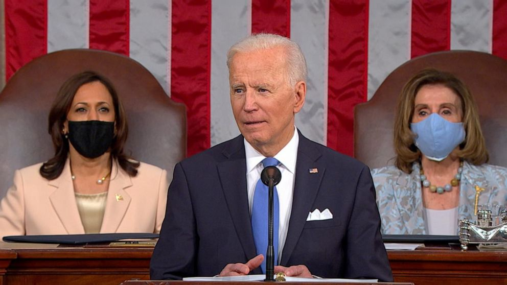 President Joe Biden discusses foreign policy and international relationships