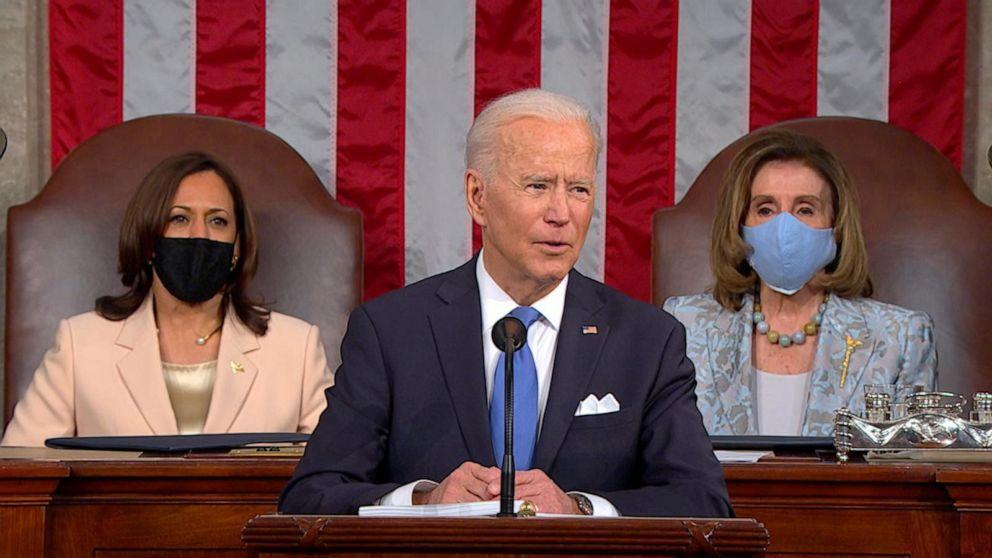 President Joe Biden announces COVID-19 cases down by 80% for seniors