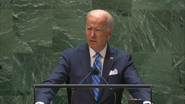 Video Biden talks COVID vaccine, climate change in UN speech